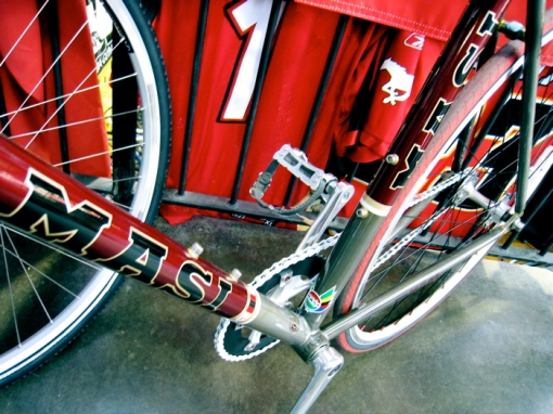 Masi fixed gear goodness at Bow Cycle Bike Expo