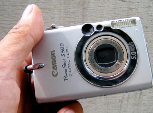 Canon S500 - my favourite camera!