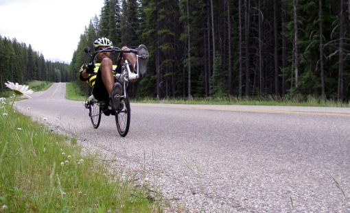 Challenge Fujin SL in the Canadian Rockies