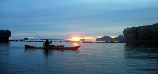 Another tough morning of kayak fishing