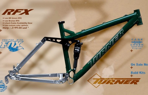 Turner RFX All Mountain