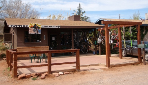 The Fat Tire Bike Shop - Sedona AZ
