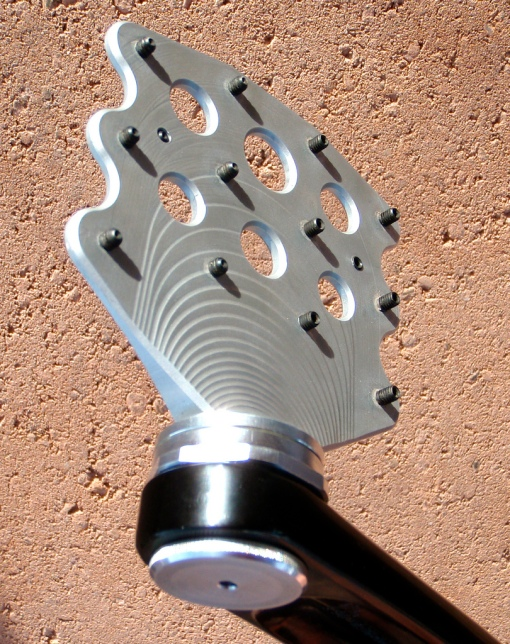 Ultra low profile MTB pedals made in Sedona.