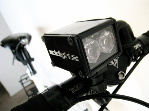 Solidlights 1203D works with a dynohub