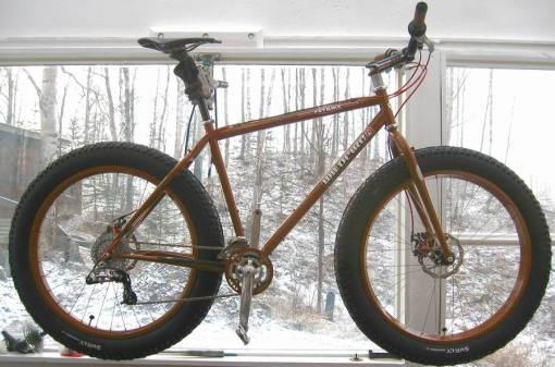 A Wildfire Fat Bike - lovely!