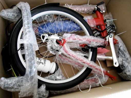 A bike in a box!