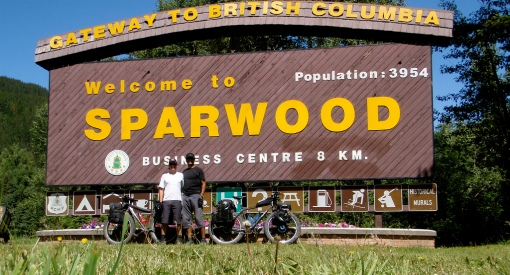 Arriving in Sparwood BC Day 3
