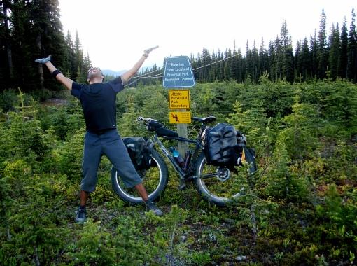 The top of Elk Pass baby!...=-)