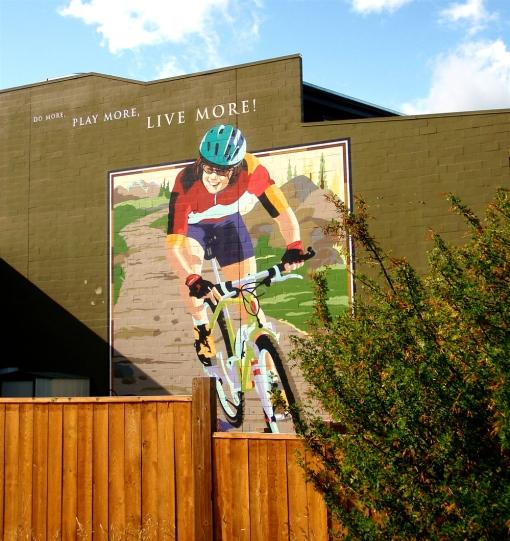 Canmore, Alberta Mural