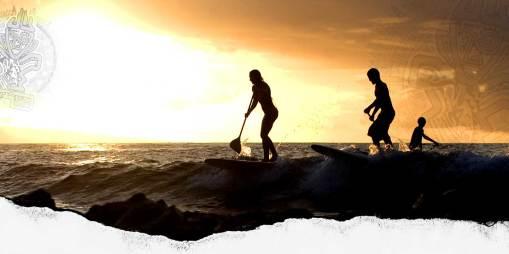 Stand Up Paddle board fun