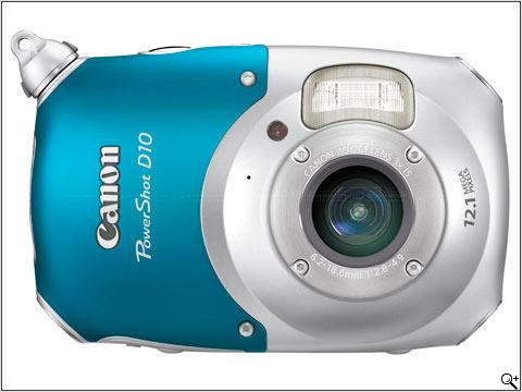 Canon D10 Waterproof Camera