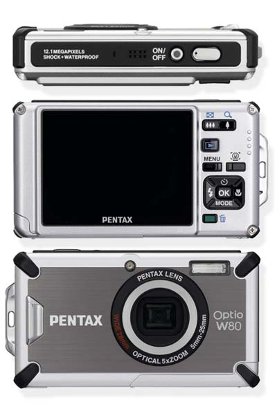 Pentax Optio W80
