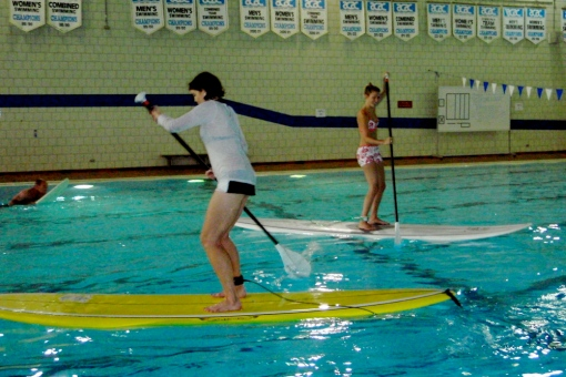 Tracey & Sharon SUPing it up!