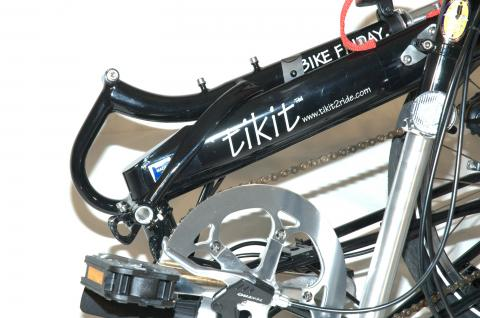 The new seatmast in folded position.