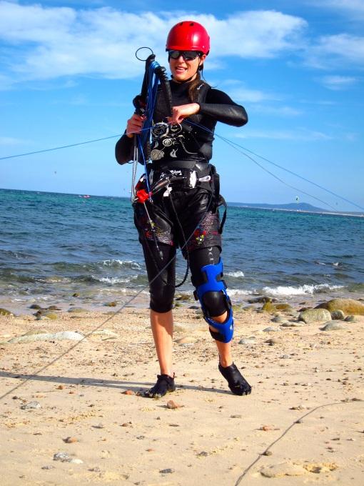 Bionic knee Sharon!
