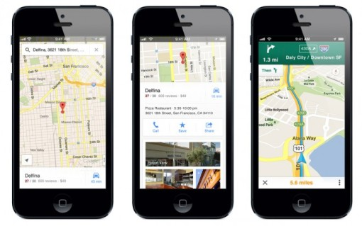 Google Maps are back on the iPhone!