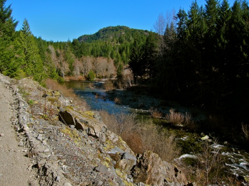 Sooke River...