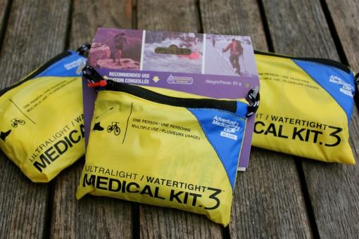 First Aid kits...
