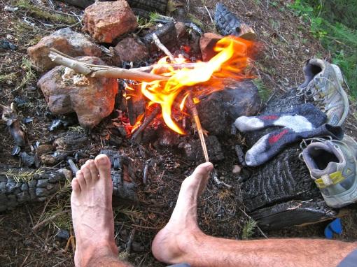Dry feet... :)