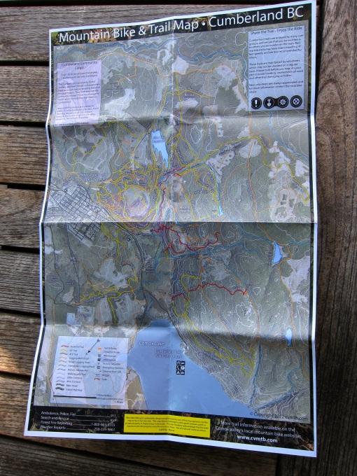 Cumberland Trail Map...