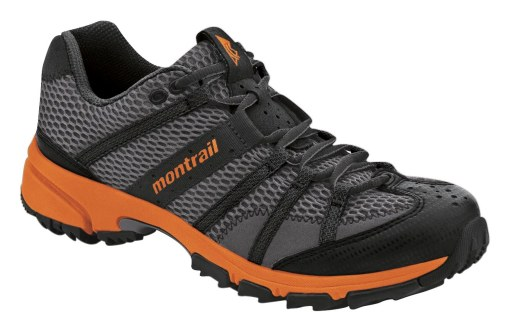 Montrail Mountain Masochist trail runners...