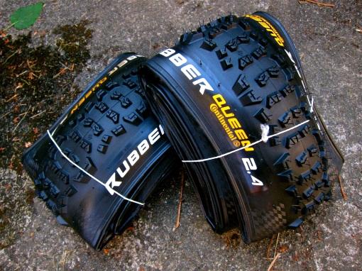 Fresh rubber...